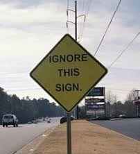 ignored-sign